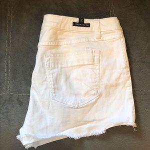 White LC Lauren Conrad Shorts